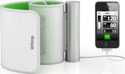 Withings iPhone Blood Pressure Monitor