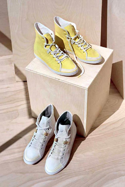 Sneakers from Adidas SLVR SS 2011 collection