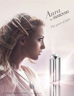 Aura perfume by Swarovski