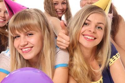 Girls, friends