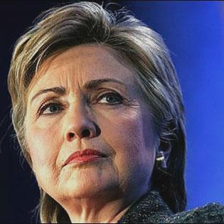Hillary Clinton is a powerful woman