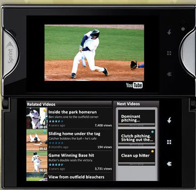 Kyocera Echo Smartphone from Sprint