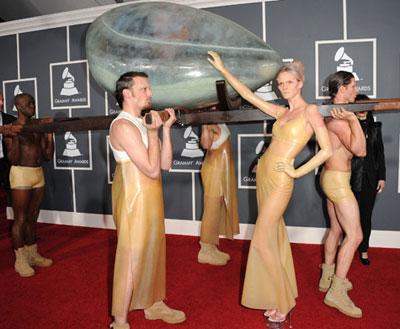 Lady Gaga Grammys Egg