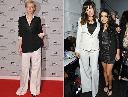 Cate Blanchett and Paz de la Huerta