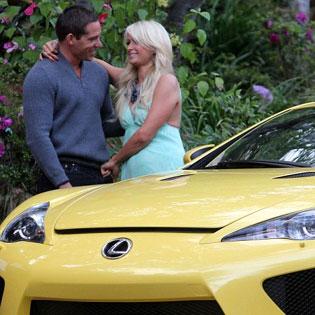 Paris Hilton's Lexus LFA gift