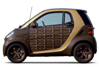 Chocolate ForTwo Mercedes Benz