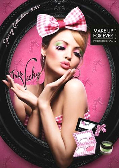 Spring 2011 Make Up For Ever collection - Tres Vichy