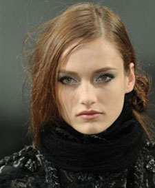 Chanel makeup for PFW