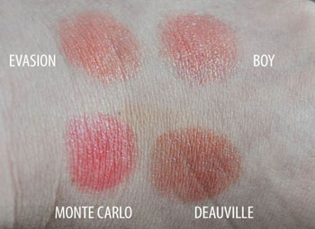 Chanel Rouge Coco lipsticks