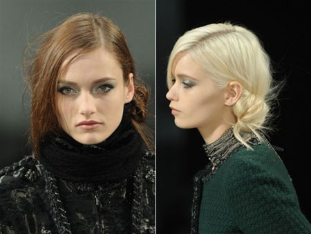 Paris Fashion Week, Chanel makeup