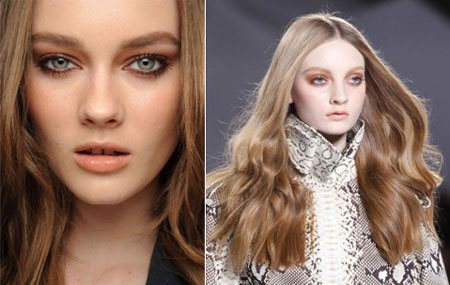 Paris Fashion Week, Chloe makeup