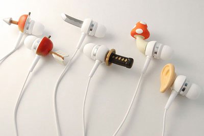 Crazy Earphones by SolidAlliance
