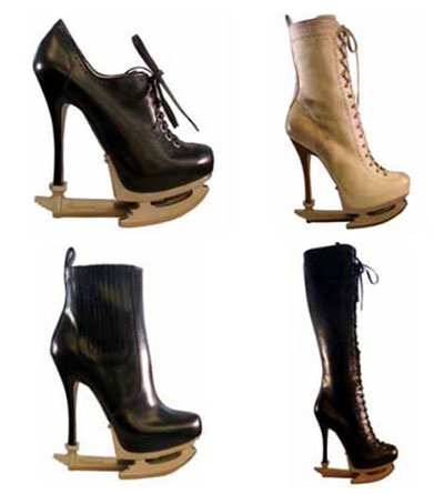 High heel shoes DSQUARED2 SKATE MOSS