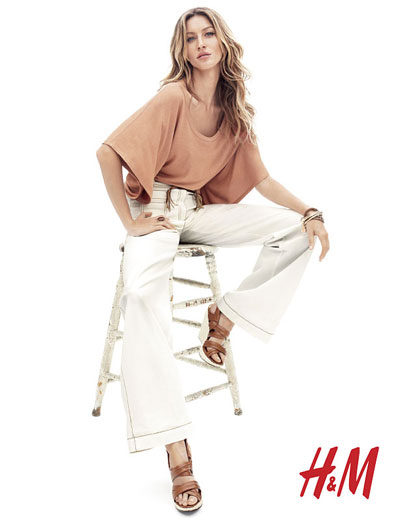 Gisele Bundchen in H&M commercial