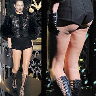 Kate Moss at Louis Vuitton show