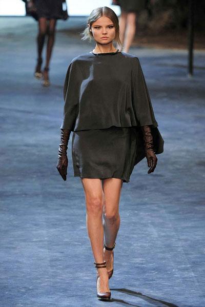 Paris Fashion Week: Lanvin FW 2011 collection