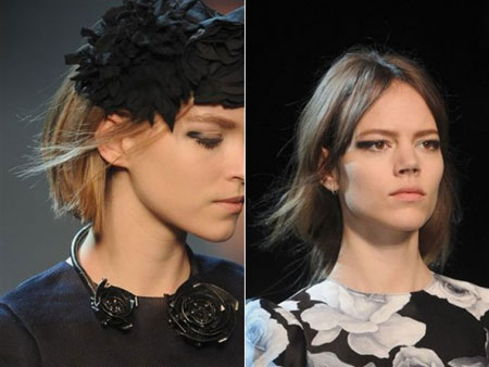 Paris Fashion Week, Lanvin makeup