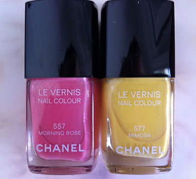 Chanel Summer 2011 Makeup Collection, nail polish