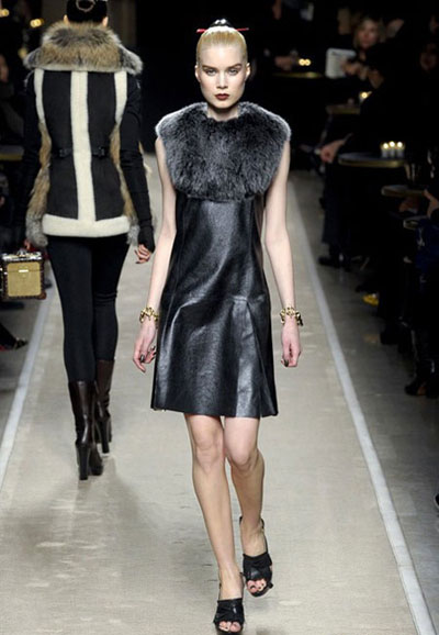 Loewe Leather and Fur Collection