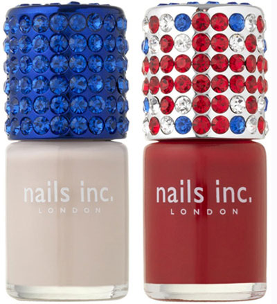 Nail polishes by Nails Inc for Royal Wedding
