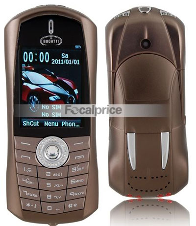 Car Style Q8 Cell Phone
