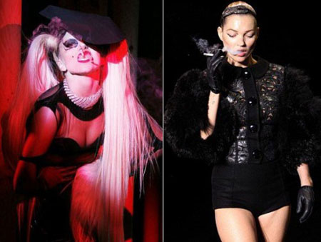 Paris Fashion Week, Lady Gaga, Kate Moss