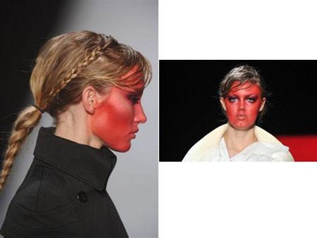 Paris Fashion Week, Viktor&Rolf makeup