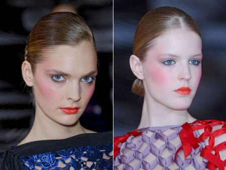 Paris Fashion Week, Vionnet makeup