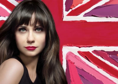 Rimmel Lasting Finish Lipstick: Zooey Deschanel