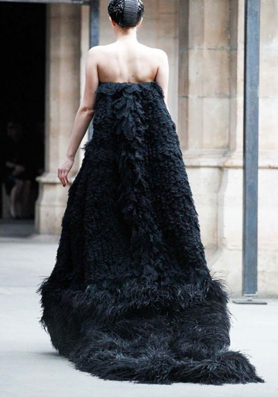 Alexander McQueen collection by Sarah Burton