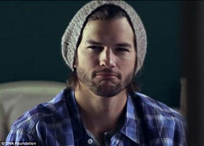 """Ashton Kutcher in """"Real Men"""" Video"""