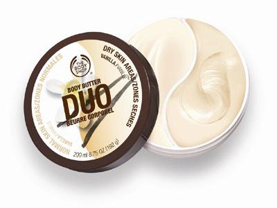 Body Shop's Vanilla Body Butter Duo