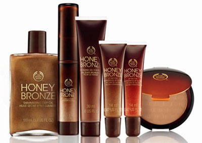 Bronze Line by Body Shop for Summer 2011