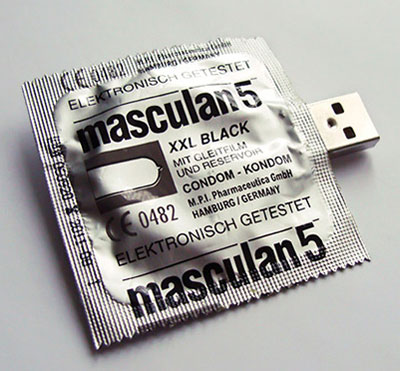 Condom USB