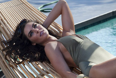 Bronze Goddess Soleil Summer 2011 collection, Hilary Rhoda