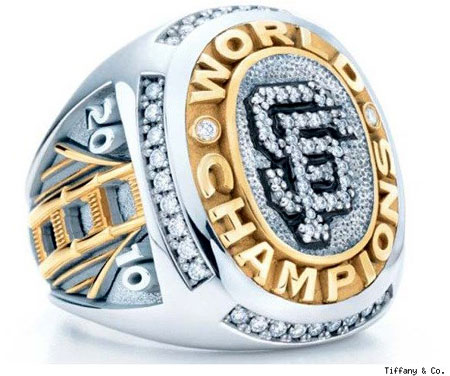 Tiffany & Co Ring for San Francisco Giants
