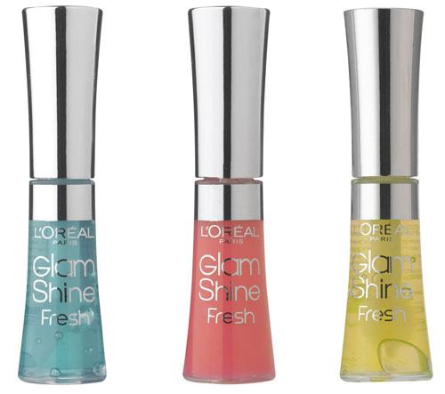 L'Oreal Glam Shone Fresh Glosses
