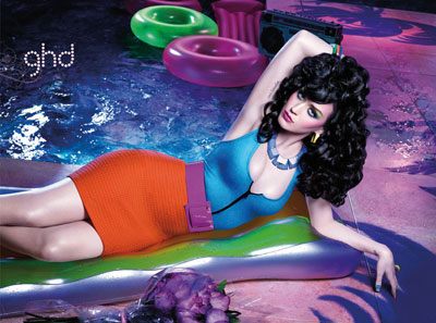 GHD ad campaign: Katy Perry