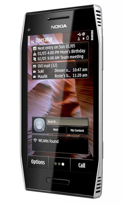 Nokia X7 Symbian