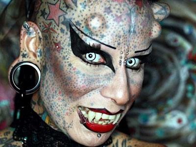 Maria Hose Cristerna: Horny Woman