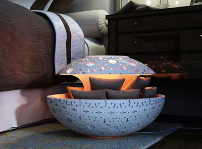 Oriental Canoon Heater by Younes Duret