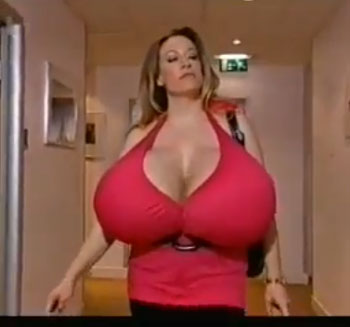 Girls with the biggest boobs in the world