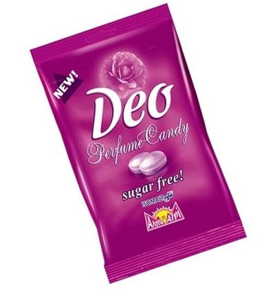 New Sugar-Free Deo Perfume Candy