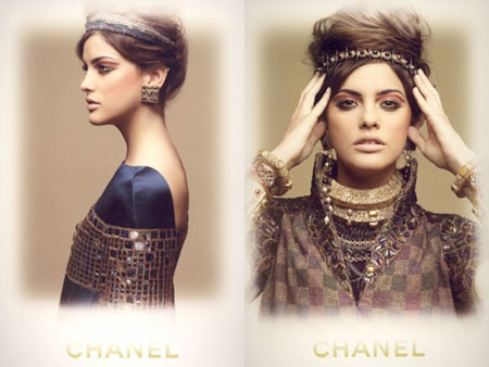 Chanel Eyeshadow ad campaign