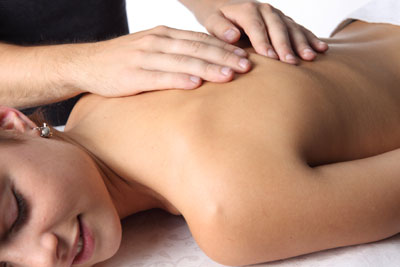 Massage, woman