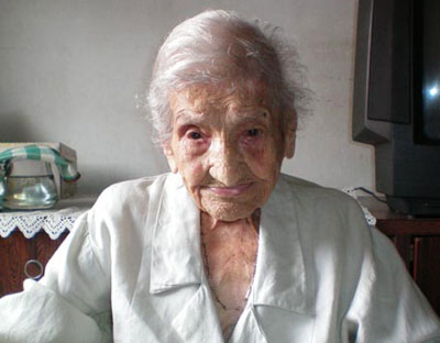 Maria Gomes Valentim, oldest person on the planet