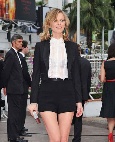Short Suit by Eva Herzigova