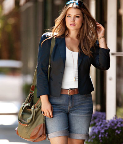 Plus-size model Tara Lynn for HM 2011