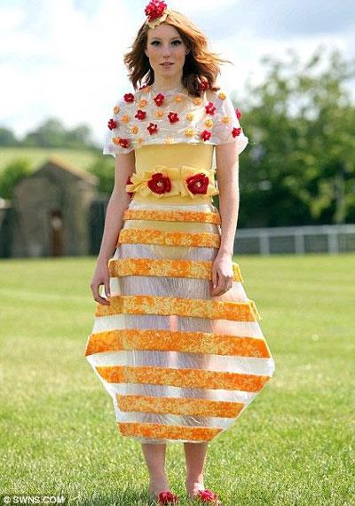 Edible Cheese Dress