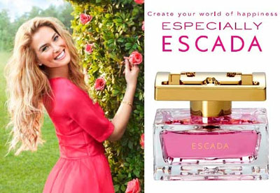 Bar Refaeli for Especially Escada Perfume